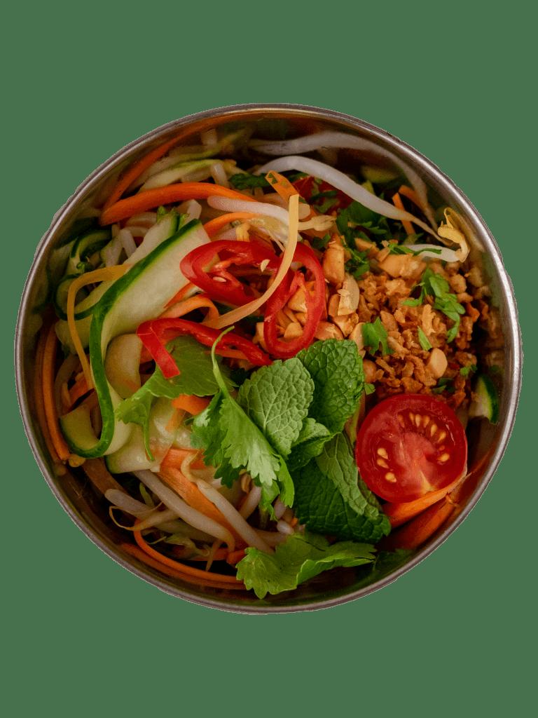 Vegetarisch eten thuisbezorgd